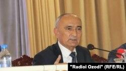 Министр образования и науки Таджикистана Махмадюсуф Имомзода