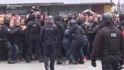 Policija razbila protest 'Pravda za Davida'