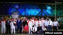 Олимпийцы Таджикистана перед вылетом в Токио