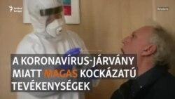 Mik a legkockázatosabb tevékenységek a járvány alatt?