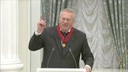 """Жириновский поёт """"Боже, Царя храни!"""" Все дружно поют Гимн"""
