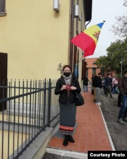 Stela Profire, Italia, 10 noiembrie 2020
