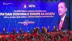 Erdogan dočekan ovacijama u Sarajevu