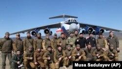 Силовики из Чечни, архивное фото