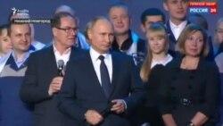 Vladimir Putin prezidentliyə namizədliyini verəcəyini deyir