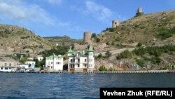 Крепость Чембало и «домики Януковича»