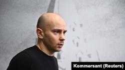 Andrej Pivovarov Moszkvában, 2021. március 13-án