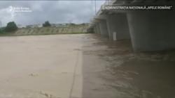 Inundații-record în România: Râul Putna, la niveluri recvord
