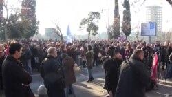 Protest protiv Vladinih mjera štednje