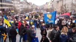 У Празі заспівали гімн України