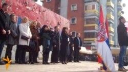 Protesta për Oliver Ivanoviqin