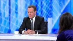 Медведев о небесном послании