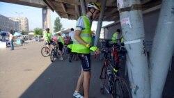 Solidarnost sa žrtvama genocida: Biciklima od Beograda do Potočara