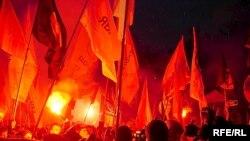 В последнее время марши «несогласных» в Петербурге разрешают, в отличие от Москвы