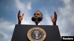 Barack Obama u Marylandu govori o blokadi vlade, oktobar 2013.