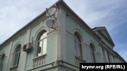 Meclis binası. Aqmescit