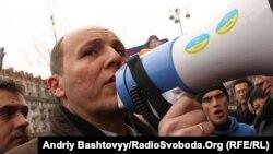 У групі депутатів під час вибуху був перший заступник голови Верховної Ради Андрій Парубій