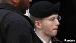 Chelsea Manning, then known as Bradley, in a 2013 photo