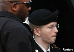 Bradley Manning, now known as Chelsea, in a 2013 photo