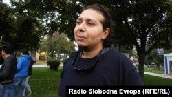Ирфан Мартес од Националниот ромски центар од Куманово.
