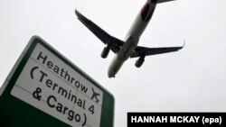 Heathrow Airport was one of three locations where the explosive devices were discovered. (file photo)