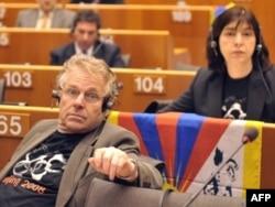 Кон-Бендит в Европарламенте, 2008 год