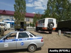Мордовиянең Азюрка авылында тентүләр бара