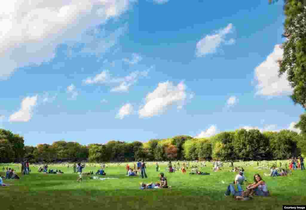 Горький паркы проекты