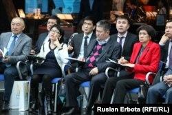 На презентации учебного пособия «Партия «Нур Отан» в потоке политической истории Казахстана». Астана, 30 марта 2016 года.