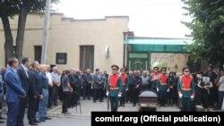 Похороны Бориса Чочиева