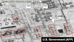 عکس ماهوارهای از میزان تخریب در تاسیسات نفتی بقیق