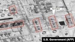 Pogođena naftna postrojenja, Saudijska Arabija