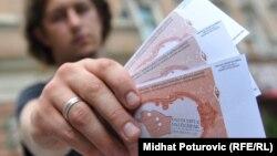 Iz jedne od kampanja protiv korupcije u BiH