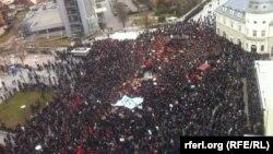 Protestat e së shtunës në Prishtinë