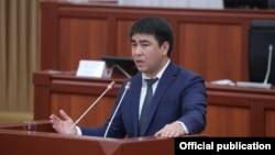 Жанар Акаев, депутат парламента Кыргызстана.