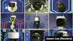Аппаратура видеослежения и съемки на международной выставке в 2019 году в Тяньцзине, Китай