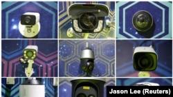 Çində sərgidə Huawei kameraları nümayiş olunur, 16 may, 2019-cu il