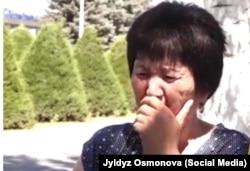 Зумурат Манапбаева, фото взято с Facebook-страницы Жылдыз Осмоновой.