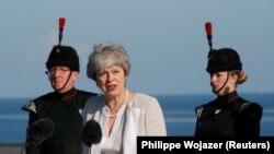 Baş nazir Theresa May iyunun 5-də Lamanş əməliyyatının ildönümündə çıxış edib