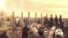 Tablou de epocă înfățișînd executarea generalilor la Arad