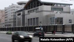 Штаб-квартира российской военной разведки (ГРУ) в Москве.