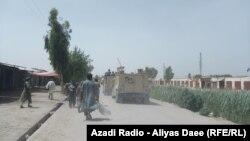 انځورونه: افغان ځواکونو له طالبانو د ناوې ولسوالۍ مرکز ونيو