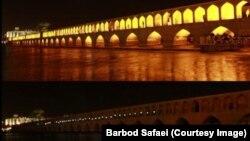 ساعت زمین در اصفهان، سال ۱۳۹۱ - عکس: باربد صفایی، سبز پرس