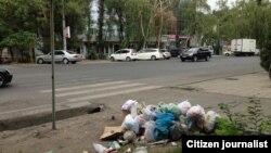 Бишкектин көчөлөрүнүн бири