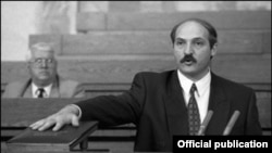 Alyaksandr Lukashenka was sworn in on July 20, 1994.