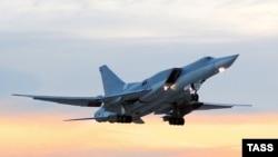 Российский бомбардировщик Ту-22. Иллюстративное фото.