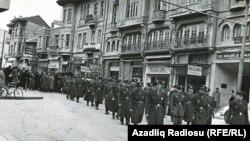 Məmməd Əmin Rəsulzadənin dəfn mərasimi, 1955-ci il, Ankara