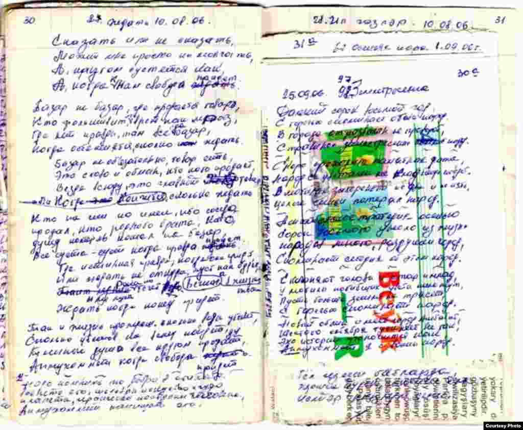 """Поэмы Акмухаммета Байханова, написанные в стенах """"Овадан Депе"""""""