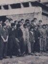 1983 - Tineri brigadieri pe Șantierul tineretului Sibiu 1. Sursa:comunismulin romania.ro (MNIR)