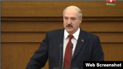 Belarusian President Alyaksandr Lukashenka made the remark following his annual state-of-the-nation address on April 29.